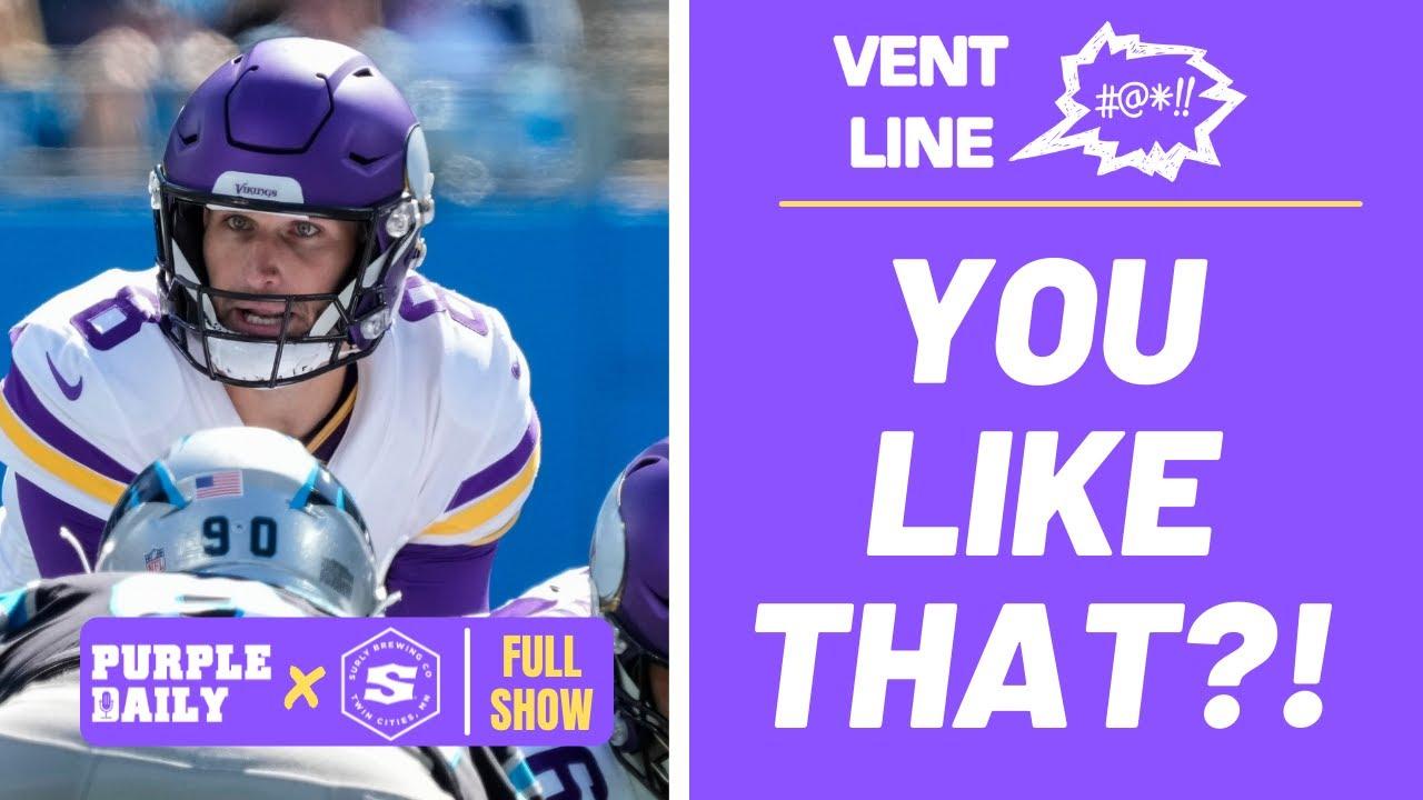 Panthers-Vikings live updates: Kirk Cousins, Minnesota down ...