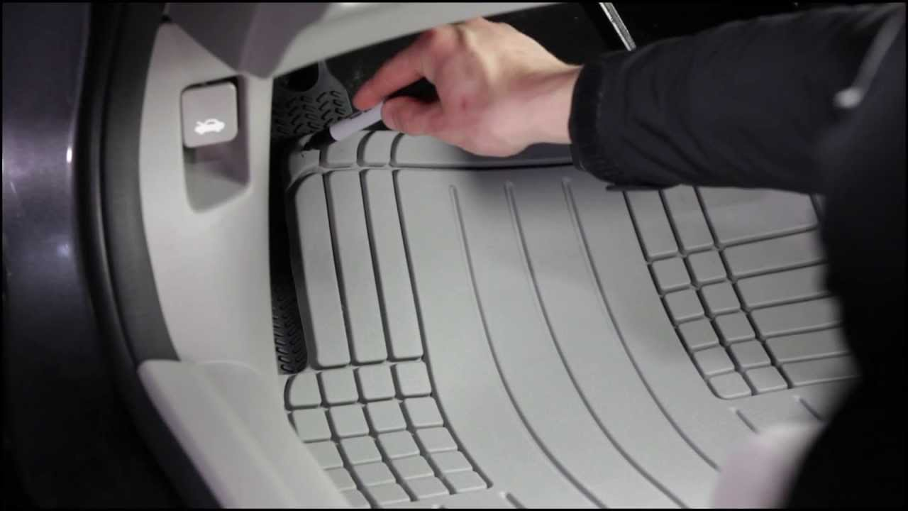 WeatherTech Europe AllVehicle Mat Install Video  YouTube
