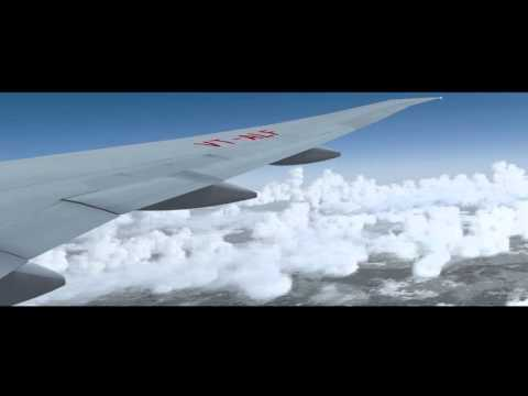 P3D Timelapse | 14.3 hour Ultra Long Haul | Delhi to San Francsico | 777-200LR