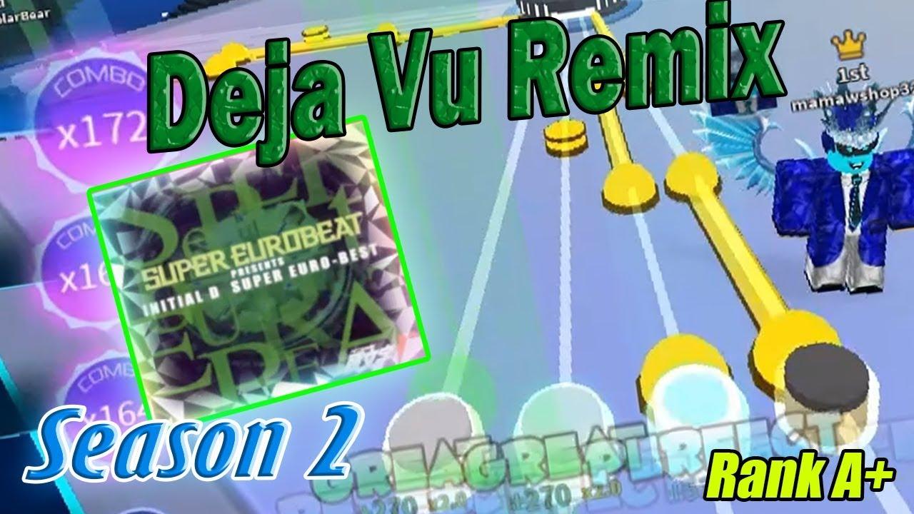 Roblox Robeats   Deja vu Remix (Hard) FC Run Rank A+ New Best