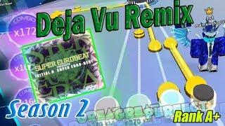 Roblox Robeats | Deja vu Remix (Hard) FC Run Rank A+ New Best