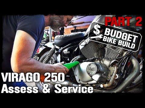 Virago 250 Wiring Diagram Bathtub Drain Installation 07 Yamaha Carb Cleanout Youtube 20 31