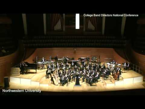 Northwestern University Symphonic Wind Ensemble Pt2 CBDNA 20