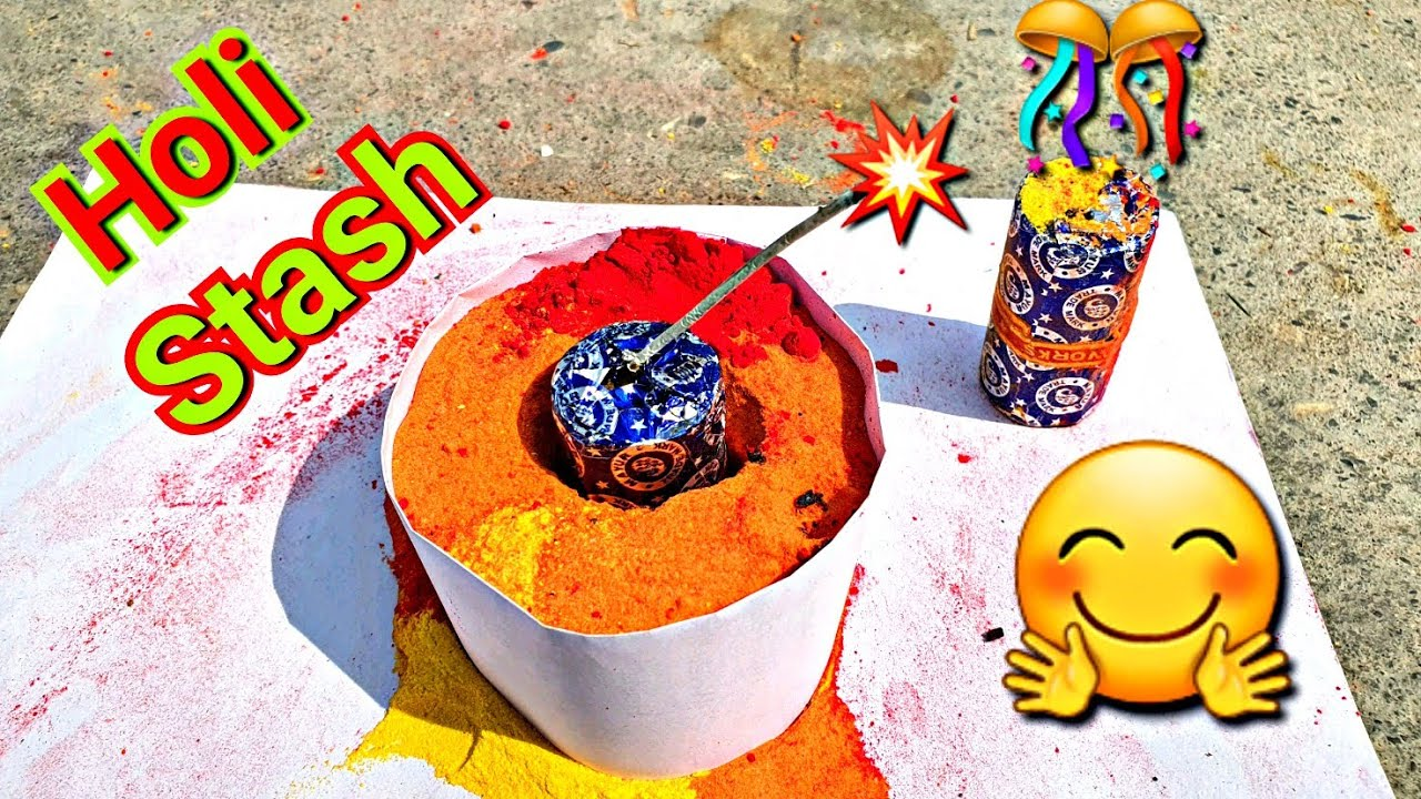 HOLI STASH 2021 | New Holi stash Testing 2021 | Holi Stash | Holi Stash Vs 777 Bum2021 | होलीगुलाल 😊