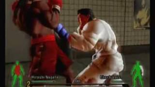 餓狼伝 Garouden - Hiroshi Nagata VS Chuck Luis