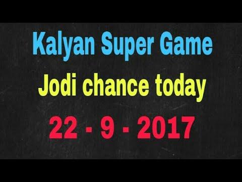 Kalyan date fix game today 22-9-2017 jodi chance friends