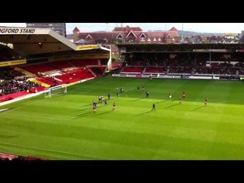 Lewis Mcgugan Free Kick Watford Lewis Mcgugan's Free Kick vs