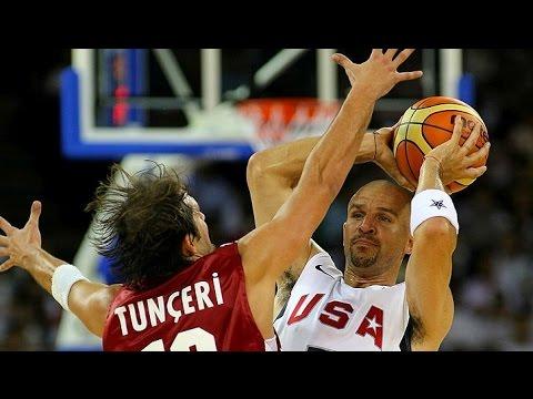Turkey vs USA 2008 Olympics Men's Basketball Exhibition Match FULL GAME English
