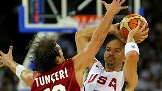 Turkey vs USA 2008 Olympics Men's Basketball Exhibition Match FULL GAME English