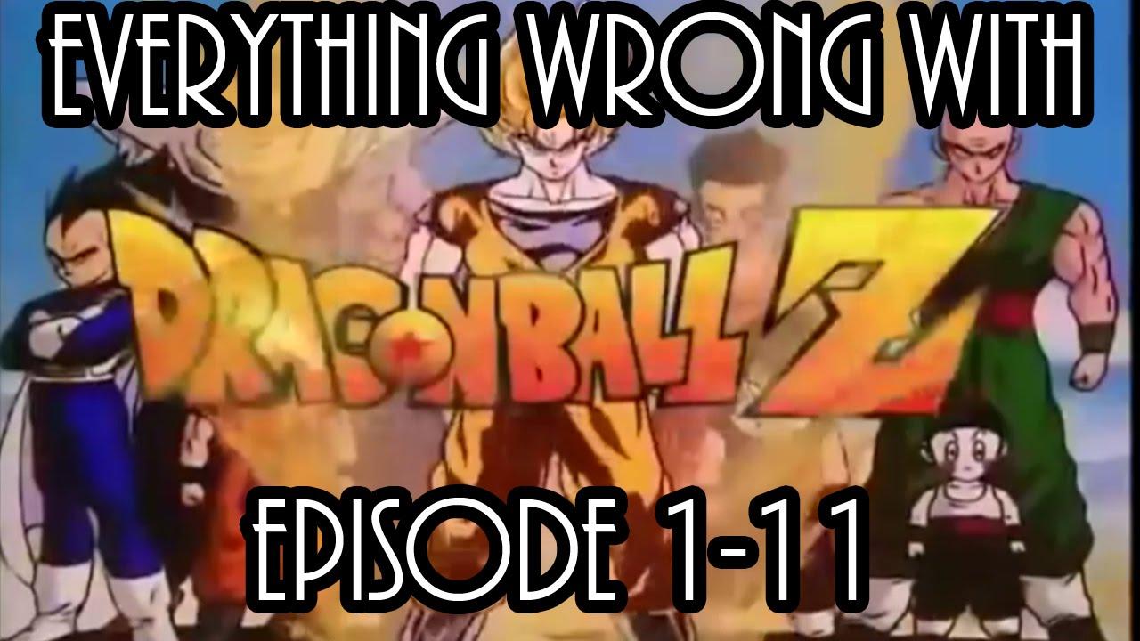 Everything Wrong With Dragonball Z Vegeta Saga Part 1 Youtube