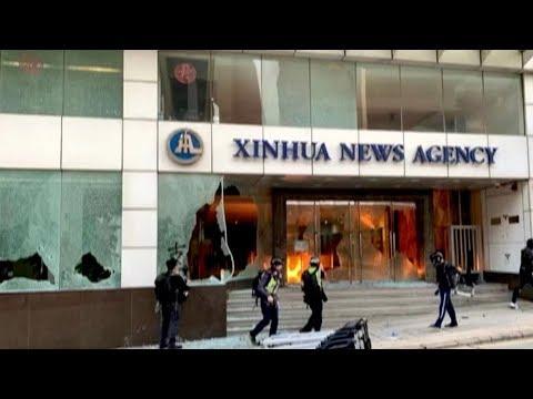 hong-kong-rioters-target-organizations-linked-with-chinese-mainland
