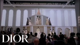 Stars in Dior on the 'Christian Dior: Designer of Dreams' Exhibition in Chengdu