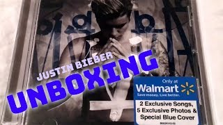 Justin Bieber - Purpose (Walmart Exclusive) CD UNBOXING