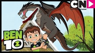 Ben 10 | Ben Wakes the Dragon! | Cartoon Network
