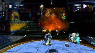 Ratchet & Clank Future: Quest for Booty (PS3) Last Boss (Ending)