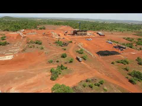 Lobster Camera Timelapse at the Yanfolila Mine, Mali. November 2017 Update