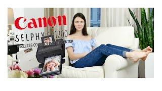 Canon SELPHY CP1200: обзор принтера
