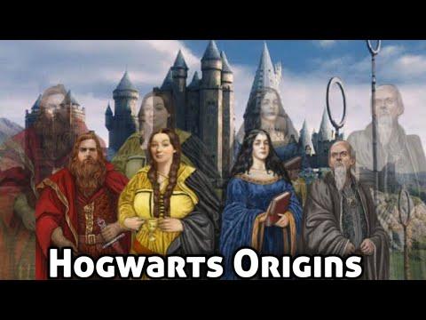[Harry potter] Hogwarts Origins Explained in hindi & Four Founders of Hogwarts