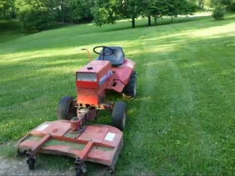 8163 B Gravely Mowing Youtube