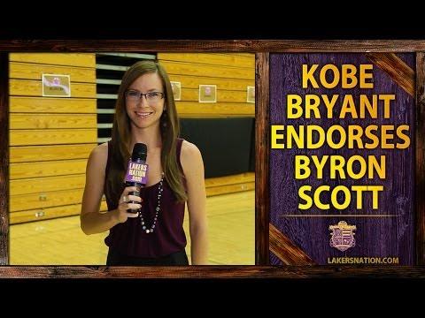 Kobe Bryant Endorses Byron Scott For Lakers Head Coach