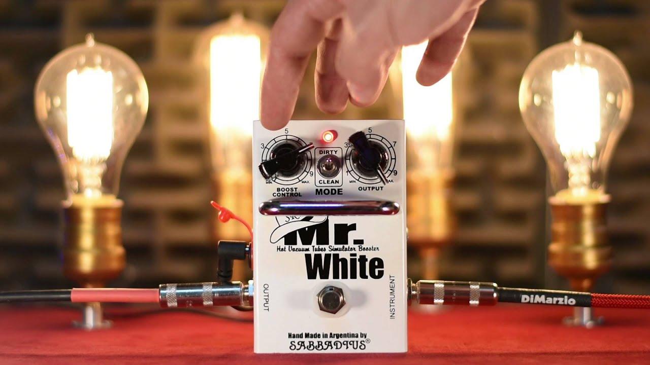 Sabbadius Mr  White `2015` by SABBADIUS Electronics