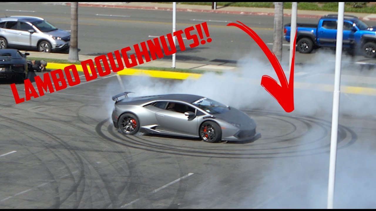 Lamborghini Dealership Doughnuts YouTube - Lamborghini car dealership