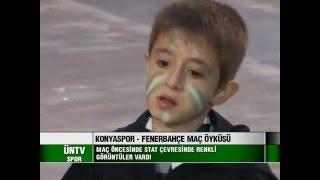 Torku Konyaspor - Fenerbahçe maçının öyküsü - ÜNTV SPOR - 2016