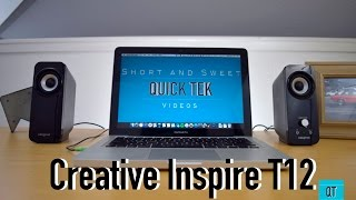 Creative Inspire T12 Review