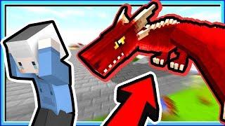 【Minecraft | 巨龍與魔獸】#3 挖屋是巨龍耶???? 下一秒 玩家已被巨龍燒死????