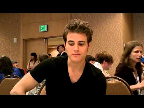 Paul Wesley Interview | 100th episode party | The Vampire Diaries ...
