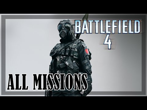 Battlefield 4 - All Missions Walkthrough
