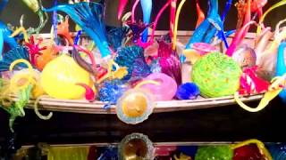 Chihuly Glass Museum Seattle -- Jeff and Bonnie 2017