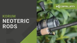 NEW Korum Neoteric Rods - Carp - Tench - Barbel - Chub