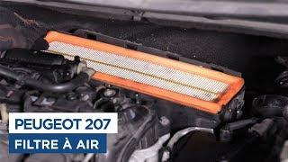 Changer le Filtre à Air - Peugeot 207