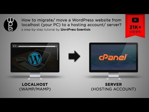 How to move a WordPress website from localhost to server? – 2017