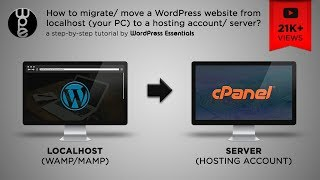 How to move a WordPress website from localhost to server? - 2019