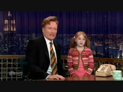 Conan O'Brien's Daughter - 1/29/07