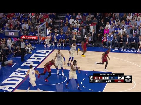 3rd Quarter, One Box Video: Philadelphia 76ers vs. Miami Heat
