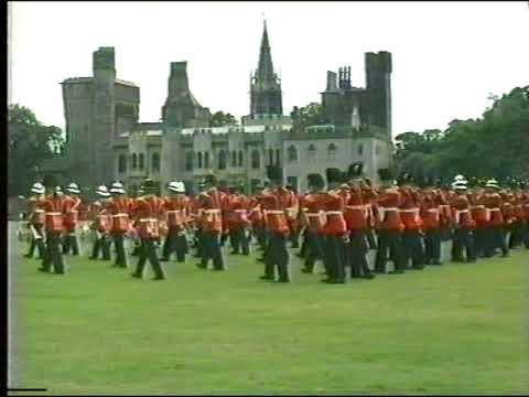 Massed Bands of The Prince of Wales's Division and The Royal Irish Regiment Part 1 of 2