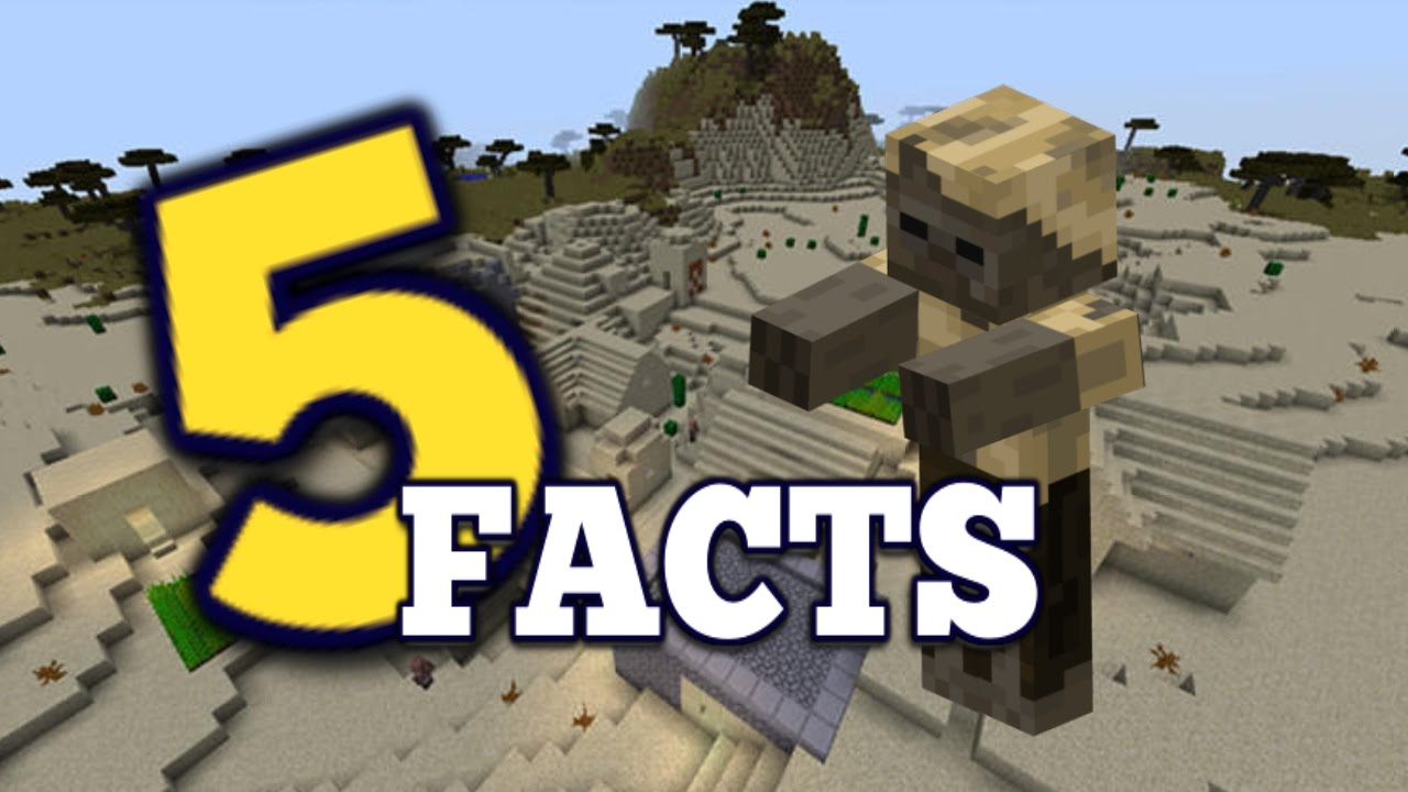 ✔ Minecraft: 5 Facts You Didn't Know About The HUSK