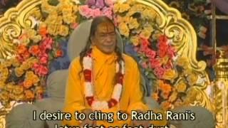 Man Karu Sumiran Radha Rani Ke Charan - Kirtan with Jagadguru Shree Kripalu Ji Maharaj