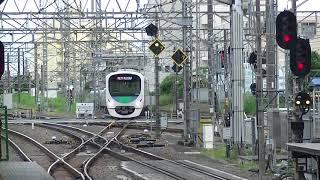西武鉄道38118F 急行西武球場前行 所沢到着