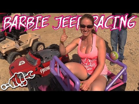 Extreme Barbie Jeep Racing  - King of the Hammers