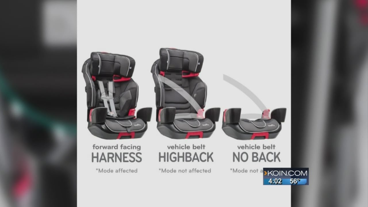 Boring Toddler Helps Spur Evenflo Car Seat Recall