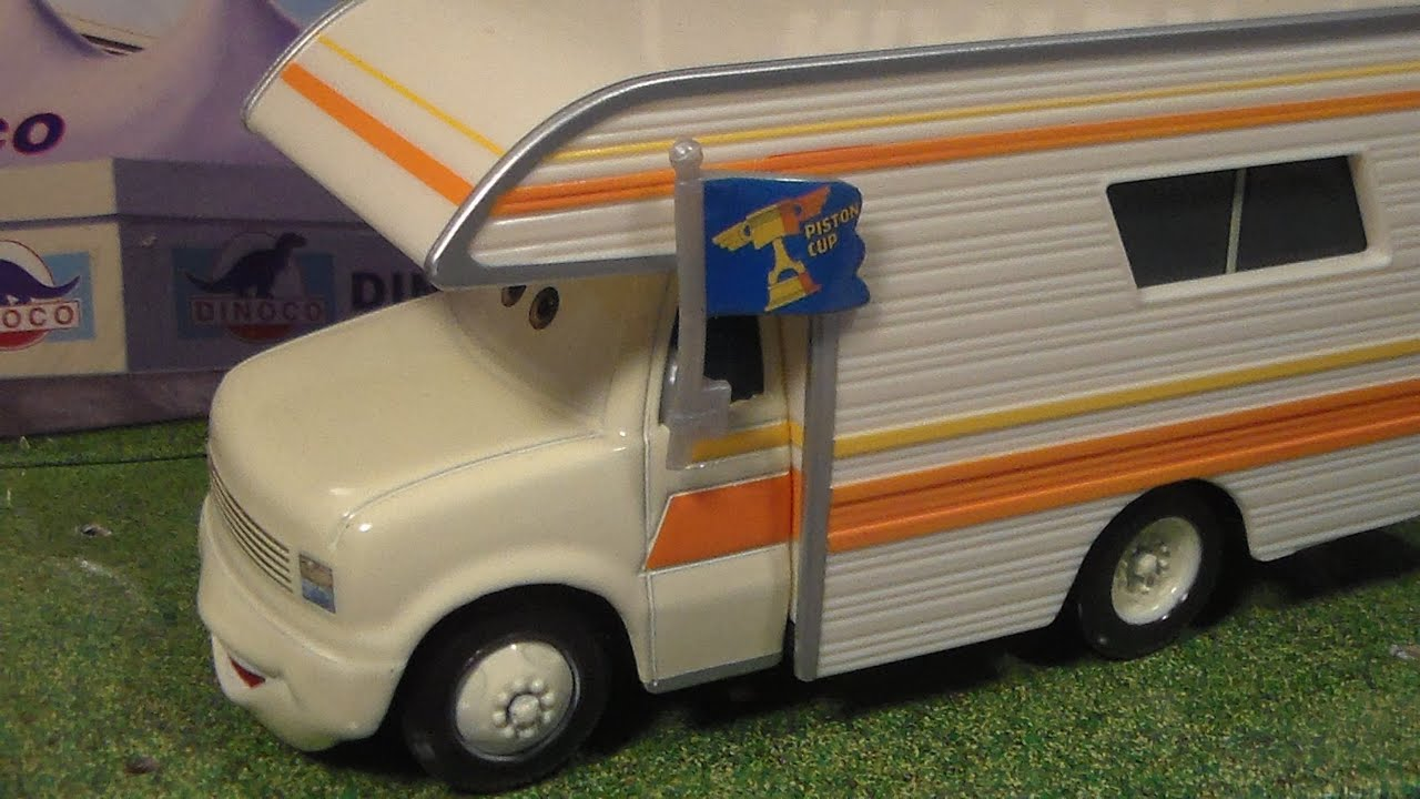 Camper Cars Larry Camper New 2015 Disney Pixar Cars Piston Cup Deluxe