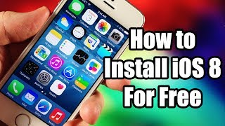 How to Install iOS 8 for Free Without UDID - IPSW Download Links