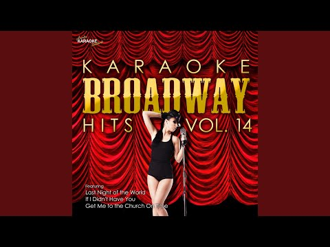 Just You Wait (In the Style of My Fair Lady) (Karaoke Version)
