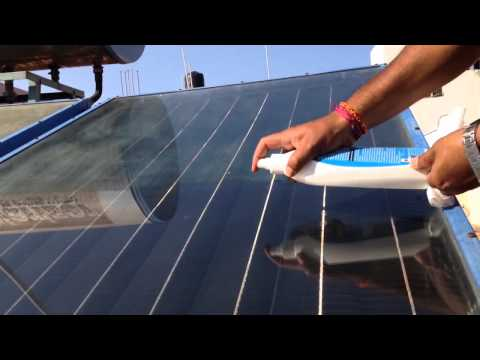 "Nano4Life"" Glass ceramic Invisible coating makes your solar panel self cleaning"
