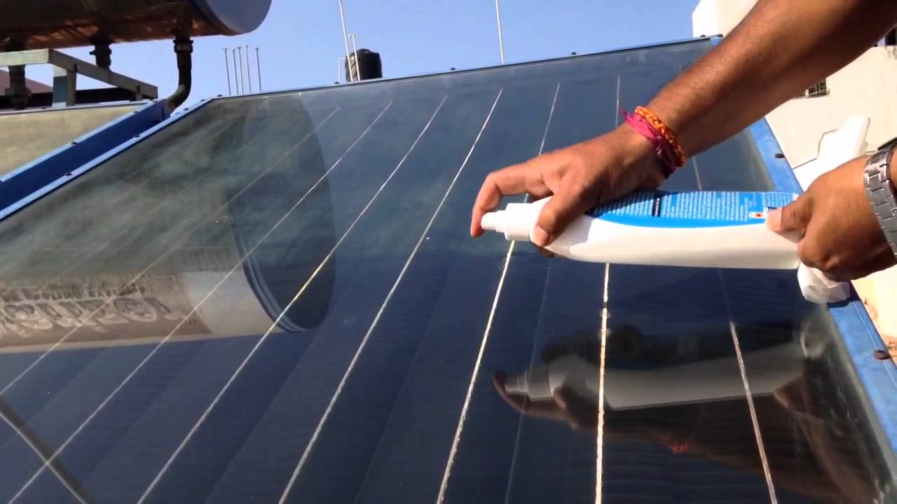 Solar panel nano4life glass ceramic invisible coating makes your solar panel nano4life glass ceramic invisible coating makes your solar panel self cleaning youtube dailygadgetfo Gallery