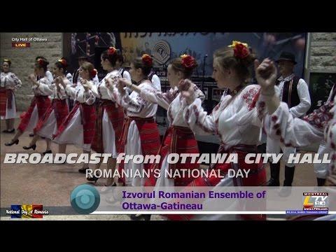2014-11-30 OTTAWA - Romanian National Day 2014 - Broadcast from Ottawa City Hall
